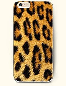 Yellow And White Panther Pattern - Animal Print - Phone Cover for Apple iPhone 6 Plus ( 5.5 inches ) - OOFIT Authentic iPhone Case