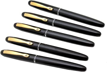 Luoshi Bamboo Fountain Pen with Stainless Steel Nib