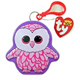 Flix Candy Ty Beanie Boos Collectible Tin with Jelly Beans, Pinky the Owl