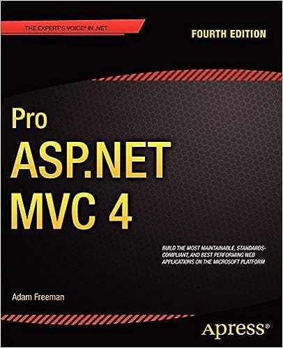 Pro ASP NET MVC 4: Adam Freeman, Steven Sanderson