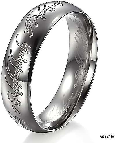 Generic Unisex Titanium Steel Blessing Engraved Comfort Fit Dome Ring