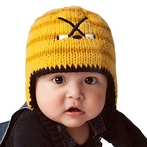 (Huggalugs Baby and Toddler Boys Hockey Beanie Hat Large )