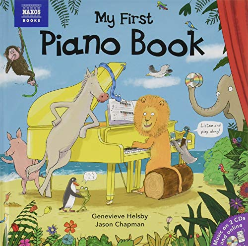 My First Piano Book (with 2 Audio CDs and website) (Best Cd Key Sites)