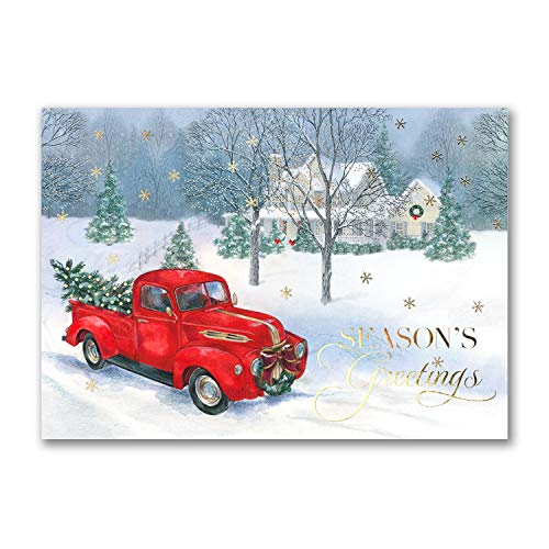 525pk Vintage Truck-Shop All Holiday