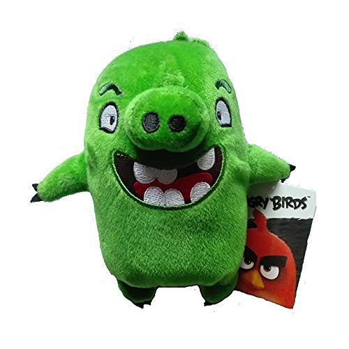 "Angry Birds - Green Pig Plush - Movie - 20cm 7"""