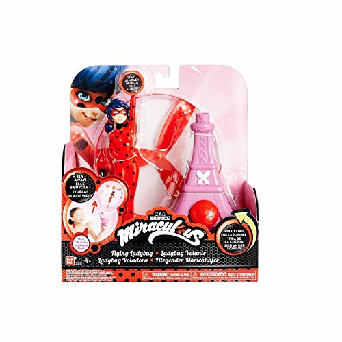 Miraculous 7.5-Inch Flying Ladybug Feature Action Doll