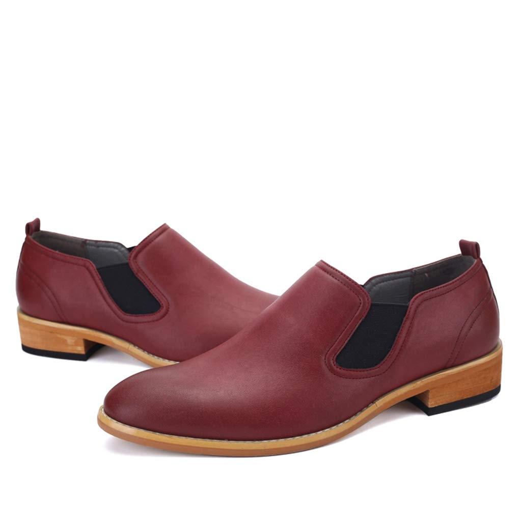 663e7b381f0ba Amazon.com: Starttwin Loafers Shoes Men Retro Slip on Comfort ...