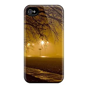 Brand New 4/4s Defender Case For Iphone (trees Autumn Season)
