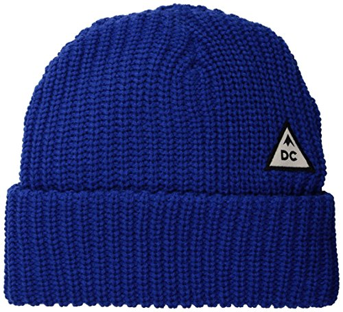 DC Men's Anchorage Snow Beanie, Nautical Blue, - Clothing Anchorage Mens