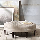 Madison Park FPF18-0264 Martin Surfboard Tufted Ottoman
