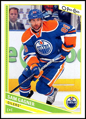 - 2013-14 O-Pee-Chee Hockey #177 Sam Gagner Edmonton Oilers Official NHL Trading Card From Upper Deck