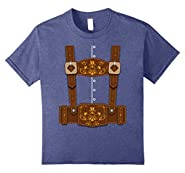 Oktoberfest Funny Lederhosen Bavarian T-Shirt