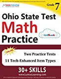 Ohio State Test Prep: 7th Grade Math Practice Workbook and Full-length Online Assessments: OST Study Guide
