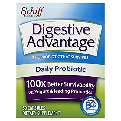 Digestive Advantage Daily Probiotic, 50 Capsules by Reckitt Benckiser