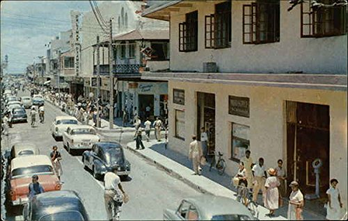 Main Shopping Centre, Downtown Frederick Street Port-of-Spain, Trinidad Original Vintage - La Center Shopping Downtown