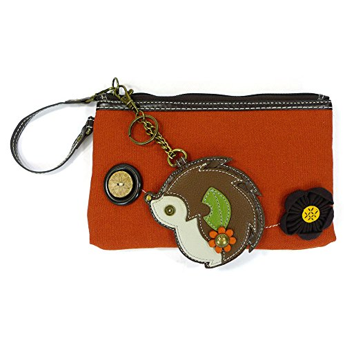 in Chala Color Orange Hedgehog Red amp; Canvas Wristlet Clutches pvwEqWavr