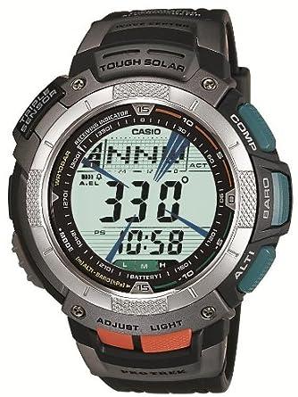 4732e9b1ed Amazon   [カシオ]CASIO 腕時計 PROTREK プロトレック TRIPLE SENSOR TOOL CONCEPT タフソーラー  電波時計 ブラック PRW-1000J-1JR メンズ   国内メーカー   腕時計 ...