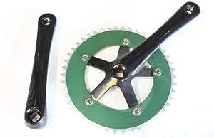 46T x 170mm x 130mm Green Big Roc 57CC8106AGN Cotterless Crank Sets