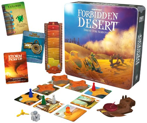 Gamewright 415 Forbidden Desert Board