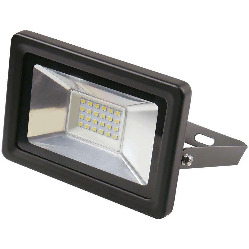 LED Express 300701 Floodlight, 136 mm x 120 mm x 60 mm, Schwarz