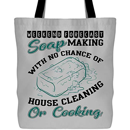 Weekend Forcast Soap Making Tote Bags - Shopping