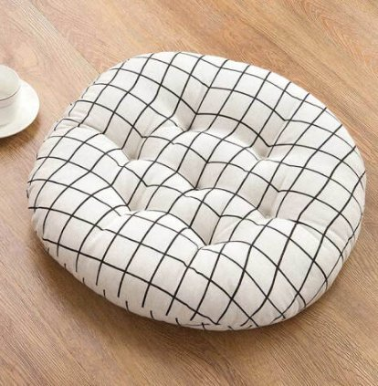 Cushions Tatami cojín Redondo cojín Flotador Ventana cojín ...
