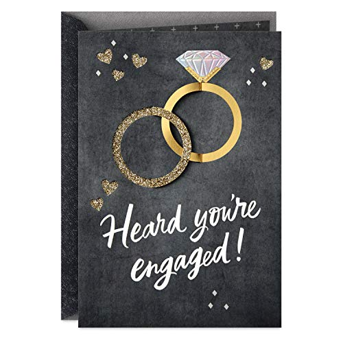 Hallmark Congratulations Engagement Card (That Rocks)