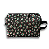 Yiot Winter Christmas Snowflake Swimsuits Travel Toiletry Organizer Bag