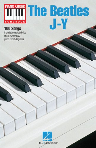 The Beatles J-Y (Piano Chord Songbooks)