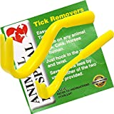 Tick Removers From Animal Hospital Pack of Two (one big one small)The Best Most Effective Tick Removal Tool on The Market, Used For The Safe Removal Of Ticks From Dogs Horses Cats Sheep or Human