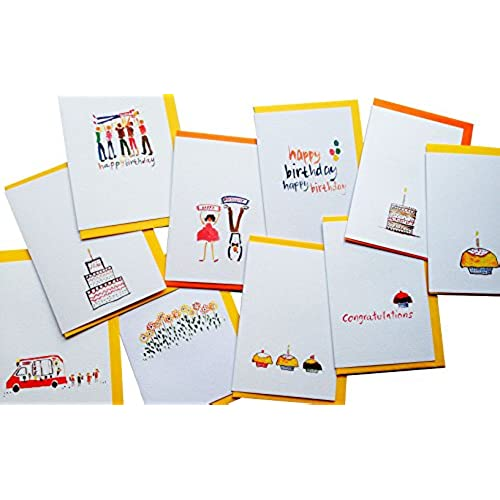 Birthday Cards Happy Birthday Greeting Cards from GayaCards, Multipack, Get these beautiful cards now Because Sales