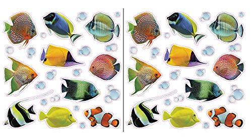 Crearreda CR-64004 Fishes Window Decals