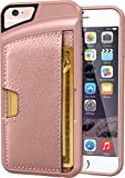 "iPhone 6/6s Wallet Case - Q Card Case for iPhone 6/6s (4.7"") by CM4 - Ultra Slim Protective Phone Cover (Rose Gold/Pink)"