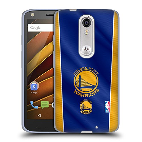 Official NBA Banner Golden State Warriors Soft Gel Case for DROID Turbo 2 / X - Banner Turbo