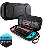 Video Games : Mumba Carrying Case for Nintendo Switch, Deluxe Protective Travel Carry Case Pouch for Nintendo Switch Console & Accessories [Dual Protection] [Large Capacity] (Black)