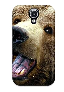 Hot Galaxy S4 Hard Back With Bumper Silicone Gel Tpu Case Cover Grizzly Bears 1704013K29746180