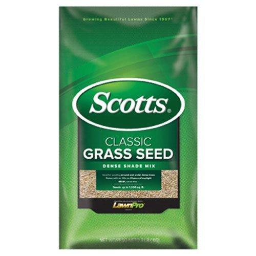 Scotts Company 17290 Classic Dense Shade Mix Grass Seed, 3-Pound