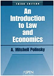 Introduction To Law and EConomics,  Third Edition (Coursebook Series)
