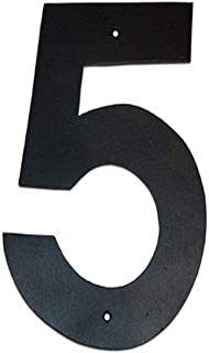 product image for Montague Metal Products Helvetica Font Individual House Number, 5, 10-Inch