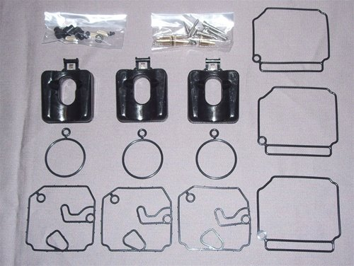 Outboard Motor Package - OEM Yamaha 40-50 2-stroke Outboard Carburetor Repair Kit 6H4-W0093-03-00