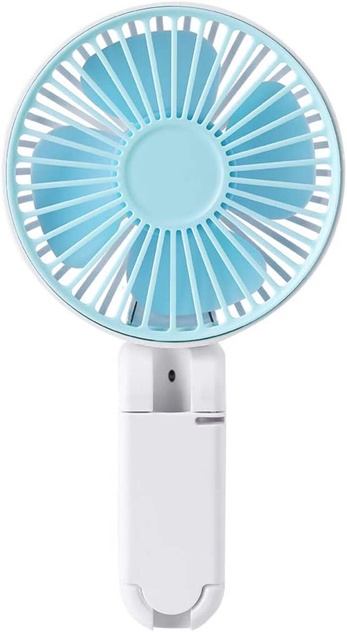 NarutoSak Portable Handheld USB Rechargeable Cooling Fan Home Office Air Cooler Blower