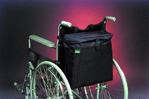 EZ-ACCESSORIES Packs, Pouches & Covers, Whlchr Carryon Pch Blk, (1 EACH, 1 EACH)