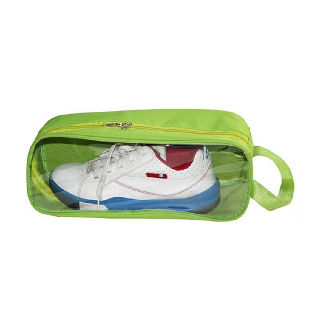 potato001 Outdoor Waterproof Oxford Cloth Zipper Closure Shoe Storage Bag