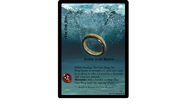 4R289 Moderate Play The Two Towers LOTR CCG 1x  Simbelmyne