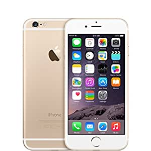 """Apple iPhone 6 (4.7"""") 128GB Unlocked for GSM Carriers - Gold (Certified Refurbished)"""