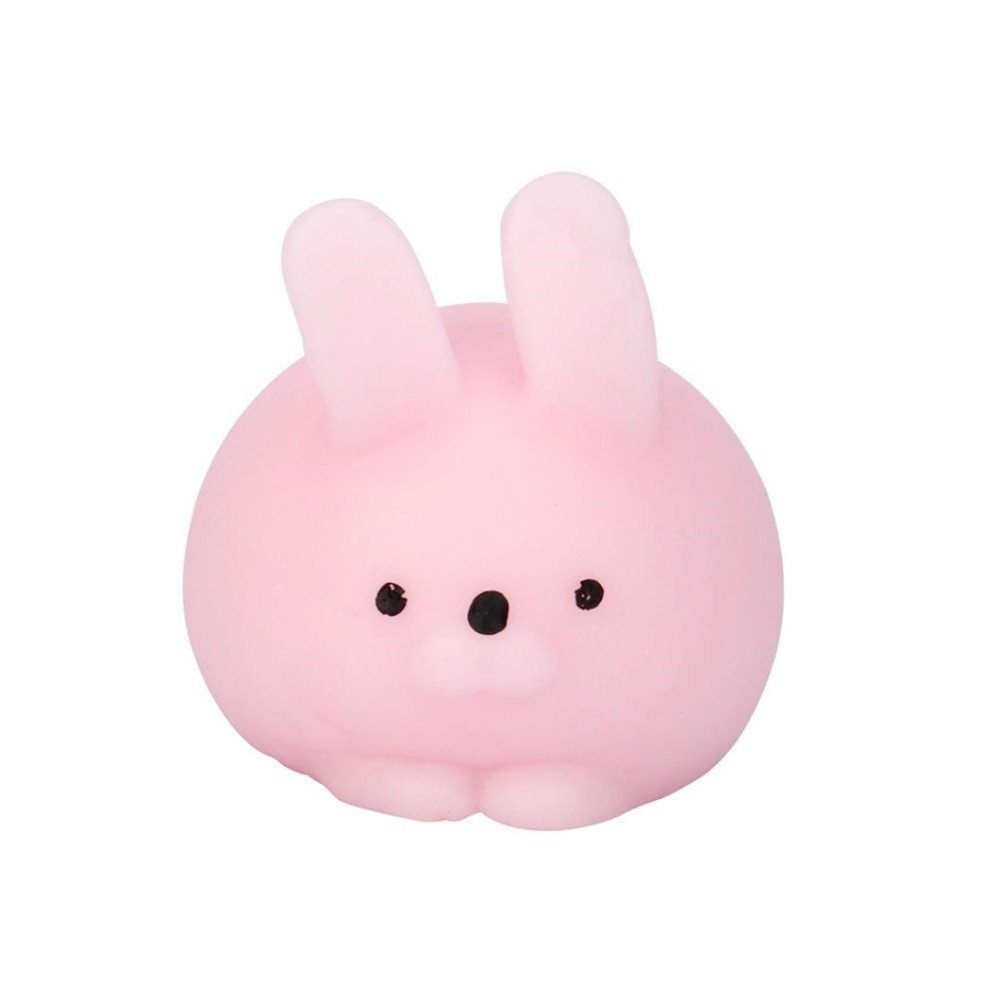 Hpapadks Mini Fat Rabbit Healing Squeeze Abreact Fun Joke Gift Rising Toys PK