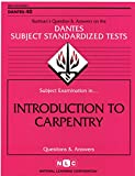 Introduction to Carpentry 9780837366401