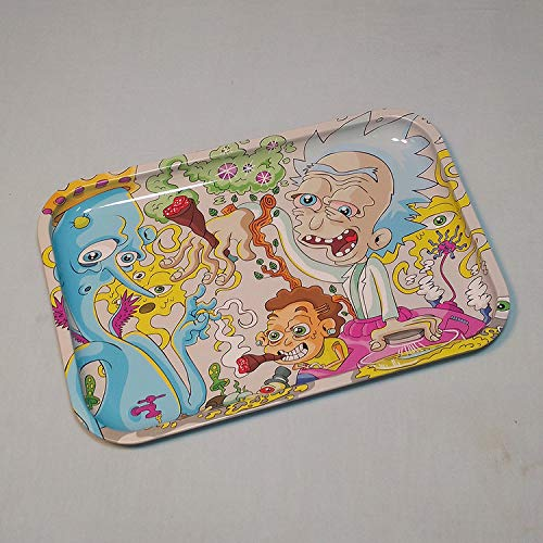 12 x 8 Dunkees Premium Rolling Tray Rich and ShortyGet Swifty