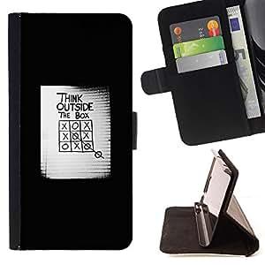 - Queen Pattern FOR Sony Xperia Z2 D6502 /La identificaci????n del cr????dito ranuras para tarjetas tir????n de la caja Cartera de cuero cubie - think outside the box inspiring po
