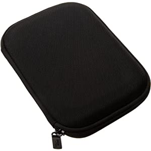 Amazon Basics Hard Travel Carrying Case for 5 Inch GPS, Black